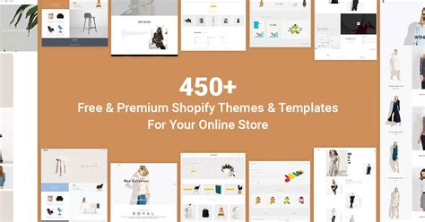 start business with 450 premium shopify themes