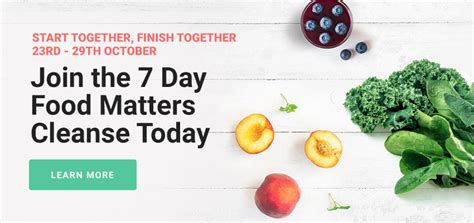 7 Day Detox Banner by I Did Juices Smoothies Soups For A Week Here S What
