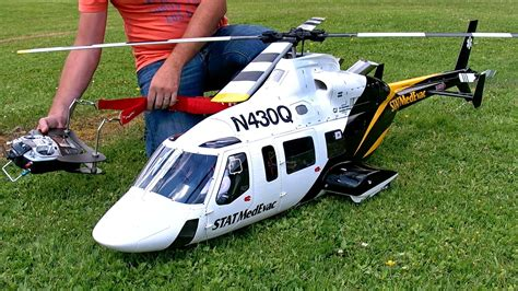 Bell Vario big rc bell 430 vario electric scale model helicopter demo flight p 246 ting turbinemeting 2016