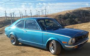 1974 Toyota Corolla Daily Turismo Samur5i 1974 Toyota Corolla Sr5