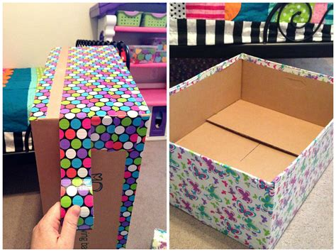 diy storage box ideas diy decorative cardboard boxes google search crafts