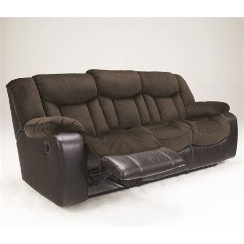 sofa recliners microfiber signature design by ashley furniture tafton microfiber