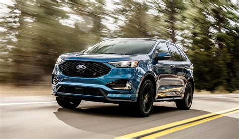 ford edge models 2019 ford edge st added to refreshed lineup 187 autoguide