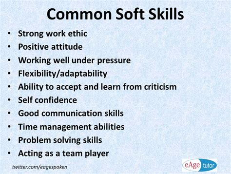 professional skills to develop list know these soft skills list and develop your career