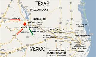 map of us and mexico border towns los zetas outmaneuver mexican burn border town