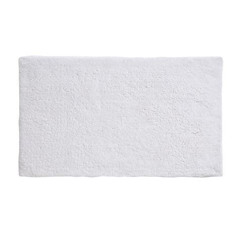 home depot bath rugs grund namo white 24 in x 40 in rug b2576 1387032 the home depot