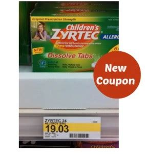 printable zyrtec coupons zyrtec coupon save 4 00 store deals ftm
