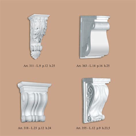 mensole roma mensole ribichini stucchi produzione stucchi