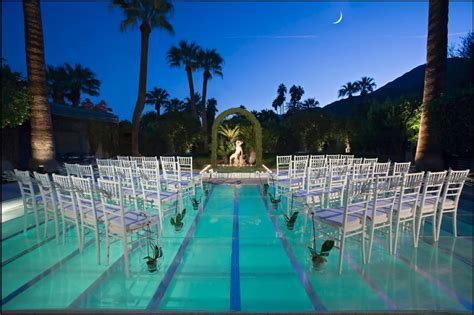 Decorating Your Pool Summer Outdoor Wedding Mitzvah Backyard Pool Wedding Ideas