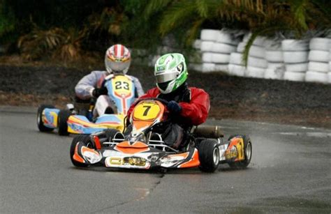5712 Handfat Karet Racing Orange robinson one of the heavies in karting state titles at lithgow circuit central western daily