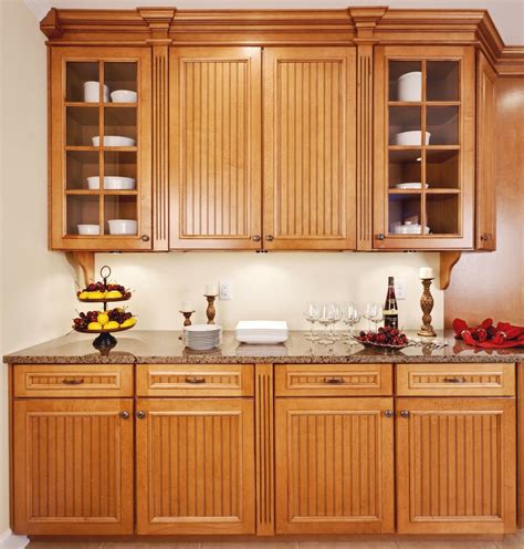 Light Oak Cabinets Kitchen Rustic With Breakfast Bar Light Oak Kitchen Cabinets