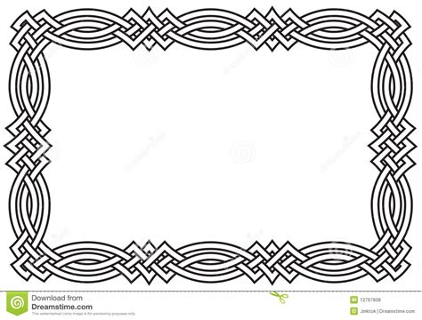 Knot Designs - celtic knot border royalty free stock photos image
