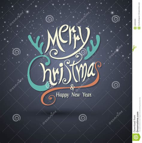 new year lettering on cartoon room background with present