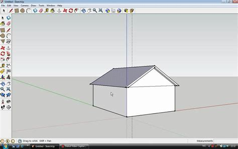 How To Build A Simple Cupola How To Make A Simple House With Roof In Sketchup