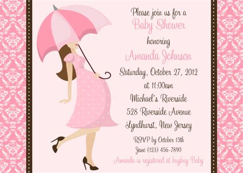 Baby Shower Invites For by Baby Shower Invitation Wording Fashion Lifestyle