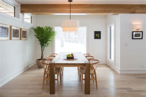 light wood kitchen table white and light wood kitchen reclaimed wood table dining room modern with drum pendant