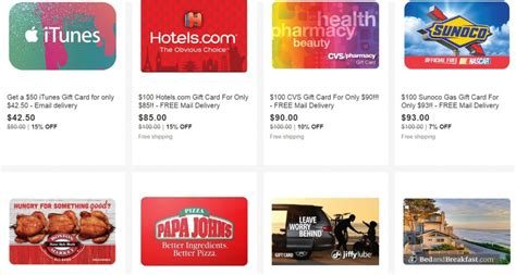 Southwest Gift Card Deals - ebay gift card deals on southwest exxon sunoco itunes and more frequent miler