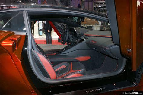 lamborghini custom interior mansory aventador aventador mansory 050812 4 hr image at