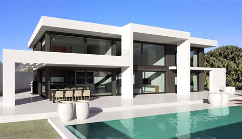 Villa Modern | modern turnkey villas in spain france portugal
