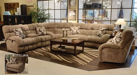 u shaped sectional sofa with recliners 12 photo of large sectional sofas