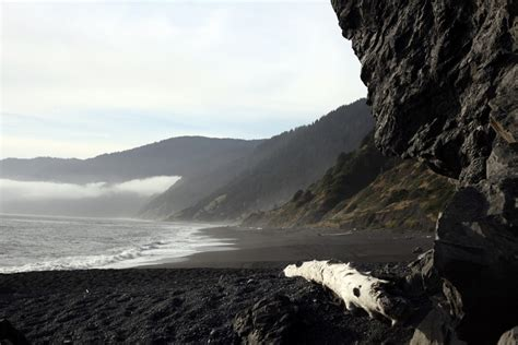 black sand beach california black sands beach whitethorn ca california beaches
