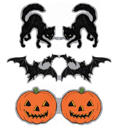 printable halloween stencils for cupcakes cool halloween pics cliparts co