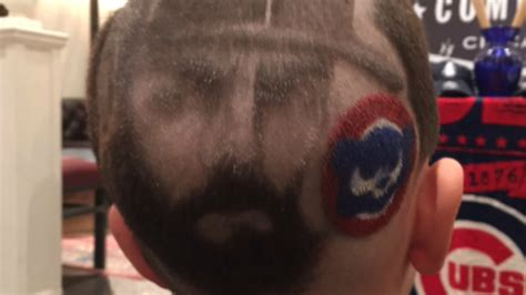chicago cubs haircuts jake arrieta barber creates hair designs for chicago cubs
