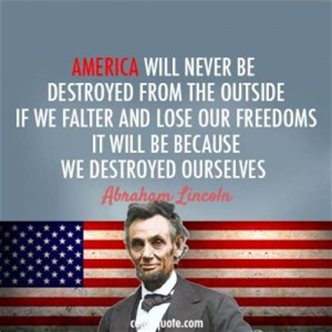 quotes about america abraham lincoln quotes on america quotesgram