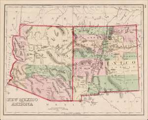 Arizona New Mexico Map by Nm New Mexico Road Map