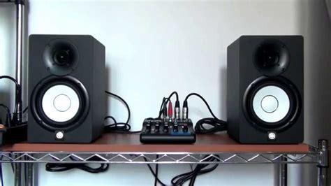 Speaker Yamaha Hs5 speakers yamaha hs5 lified