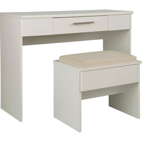 bedroom stools argos buy home normandy dressing table and stool white at