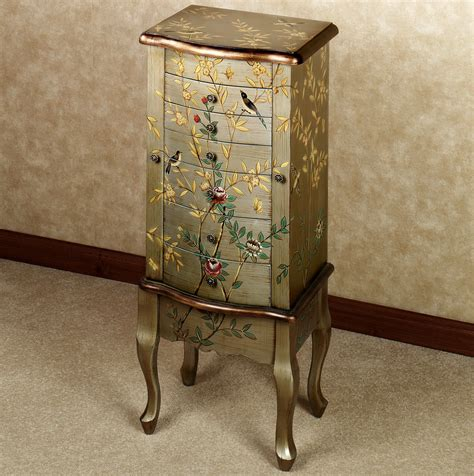 mirror jewelry box armoire decor oriental jewelry box mirrored armoire jewelry girls