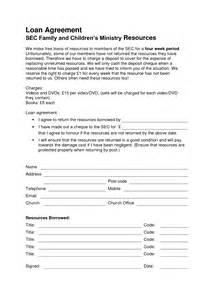 28 family loan agreement template free download