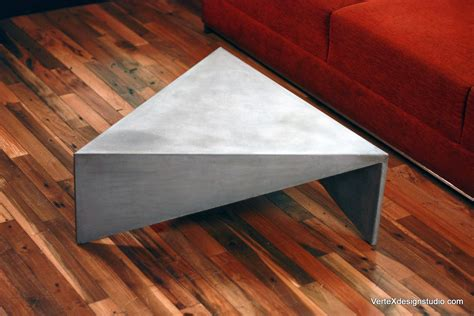 Ideas Design For Triangle Coffee Table Concrete Triangle Coffee Table