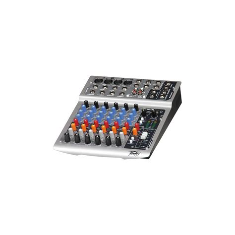 Mixing Console Mixer Peavey Pv8 8channel Limited peavey pv 8