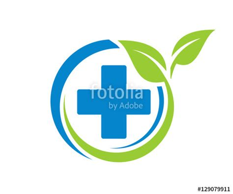 free logo design pharmacy quot generic pharmacy circle plus leaf medicine icon logo
