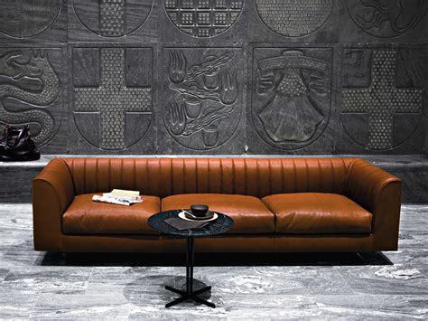 sofa quilt quilt sofa aus leder by tacchini italia forniture design