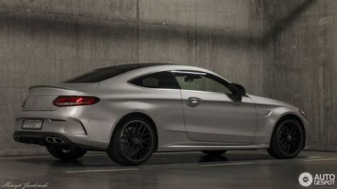 Dc Amg Mercedes Coupe B66962271 mercedes amg c63s coupe in selenite grey pics page 24 mbworld org forums