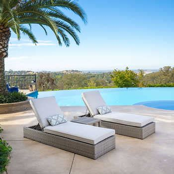 costco resin wicker lounge chairs ballina 3 chaise lounge set