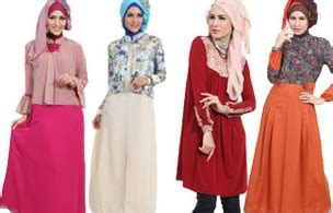 desain baju masa kini 10 contoh desain baju muslim wanita masa kini oke
