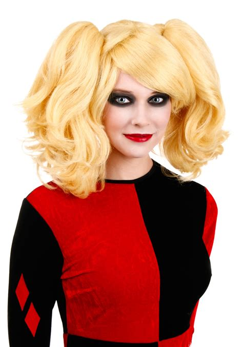 wigs for 50 year olds women s harlequin wig