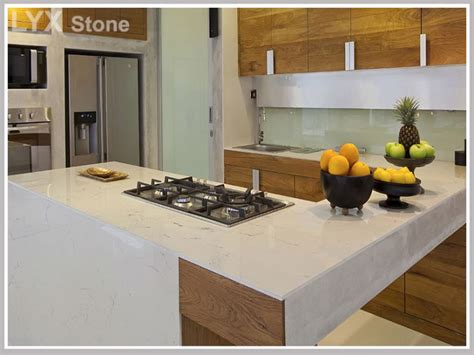 Artificial Kitchen Countertops by China Artificial Quartz Kitchen Countertop Manufacturers