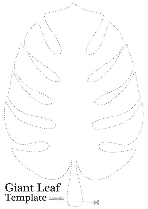 jungle leaf templates to cut out best 25 safari ideas on