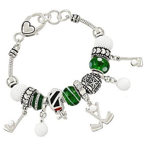 pandora jewelry bracelet charms pandora inspired golf sport theme charm bracelet