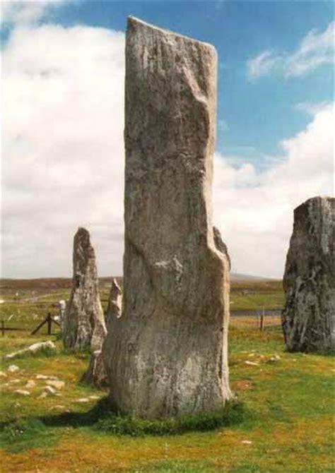 Stone Desert by Monoliths Standing Stones