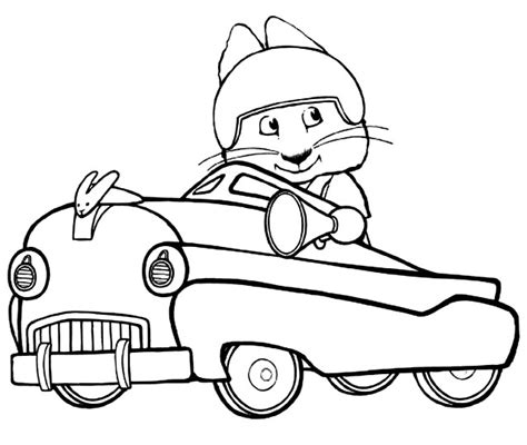 max and ruby coloring pages bestofcoloring com