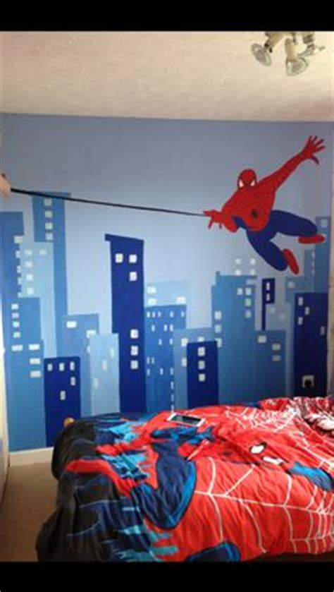 boys spiderman bedroom ideas spiderman color palette caleb s super hero room