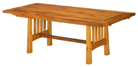 arts crafts dining table by berkeley mills