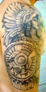 aztec warrior tattoos designs cool tattoos bonbaden