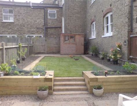 Garden Ideas With Railway Sleepers Raised Bed Projects With Railway Sleepers Landscaping Gardening Ideas